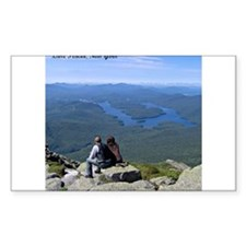 View of Lake Placid Decal
