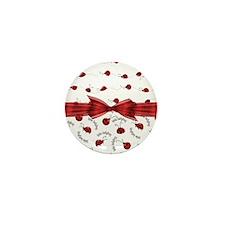 Perfect Little Ladybugs Mini Button