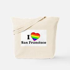 I Love [Heart] San Francisco Tote Bag