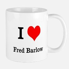 I heart Fred Barlow Small Mug