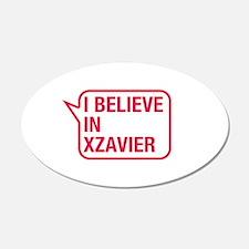 I Believe In Xzavier Wall Decal
