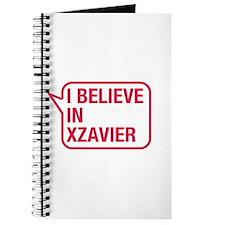 I Believe In Xzavier Journal