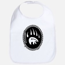 Native Art Tribal Bear Bib