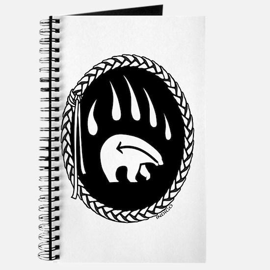 Native Art Tribal Bear Journal