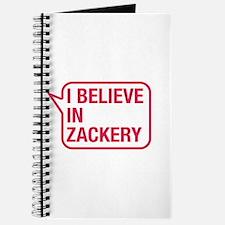 I Believe In Zackery Journal