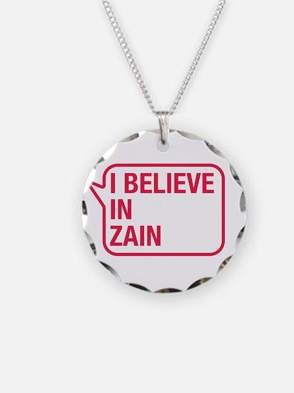 I Believe In Zain Necklace