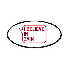 I Believe In Zain Patches