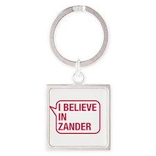 I Believe In Zander Keychains