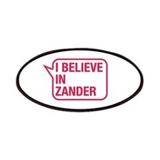 I Believe In Zander Patches