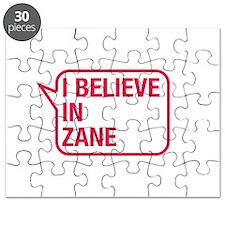 I Believe In Zane Puzzle