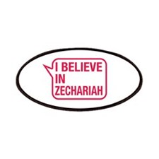 I Believe In Zechariah Patches