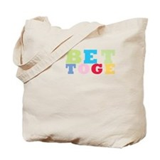 Cute Love better together wife husband anniversary funn Tote Bag
