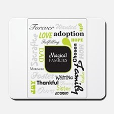 Magical Families Logo Mousepad