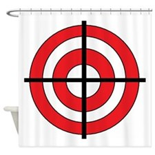 TARGET.jpg Shower Curtain