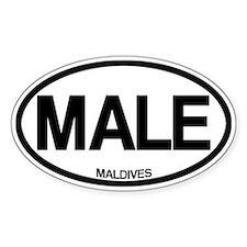 Male, Maldives Decal