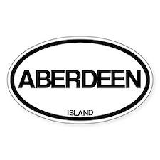 Aberdeen Island Decal