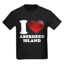 I Heart Aberdeen Island T-Shirt