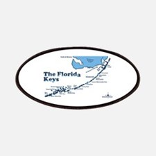 Florida Keys - Map Design. Patches