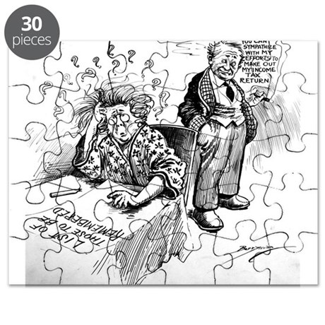 Political Cartoon Puzzle By AllPublicDomain