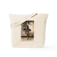 Black Velvet Ballet Tote Bag