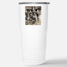 Penny Farthing Bicycle Gang Travel Mug