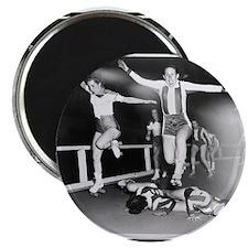 """Acrobatic Roller Derby 2.25"""" Magnet (100 pack)"""