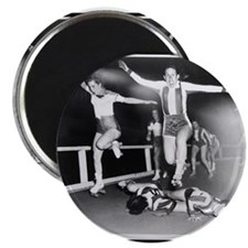 """Acrobatic Roller Derby 2.25"""" Magnet (10 pack)"""