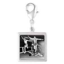 Acrobatic Roller Derby Charms