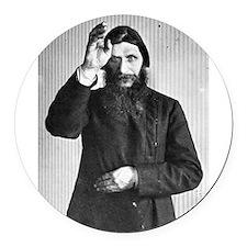 Gregory Rasputin Round Car Magnet
