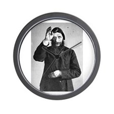Gregory Rasputin Wall Clock