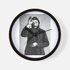 Gregory Rasputin Wall Clock
