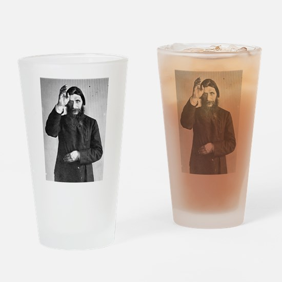 Gregory Rasputin Drinking Glass