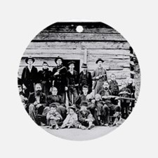 The Hatfield Clan Ornament (Round)