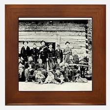 The Hatfield Clan Framed Tile