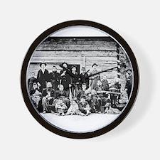 The Hatfield Clan Wall Clock