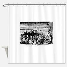 The Hatfield Clan Shower Curtain
