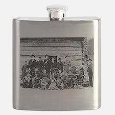 The Hatfield Clan Flask
