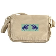 Blue Dragons Messenger Bag