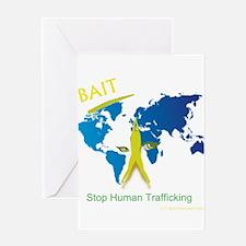 Bait! Stop Human Trafficking Greeting Card