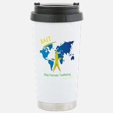 Bait! Stop Human Trafficking Travel Mug