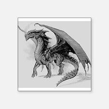 Black Dragon Sticker
