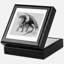 Black Dragon Keepsake Box