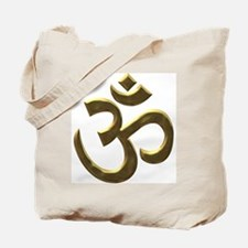 gold ohm.png Tote Bag