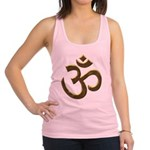 gold ohm.png Racerback Tank Top