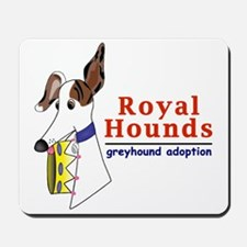 Royal Hounds Greyhound Adoption Logo (RHGA) Mousep
