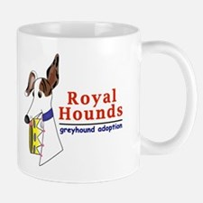 Royal Hounds Greyhound Adoption Logo (RHGA) Mug