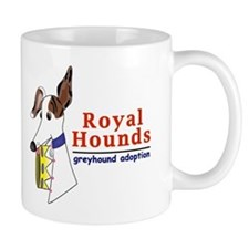 Royal Hounds Greyhound Adoption Logo (RHGA) Small Mug