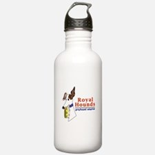 Royal Hounds Greyhound Adoption Logo (RHGA) Water