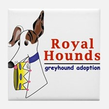 Royal Hounds Greyhound Adoption Logo (RHGA) Tile C