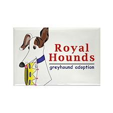 Royal Hounds Greyhound Adoption Logo (RHGA) Rectan